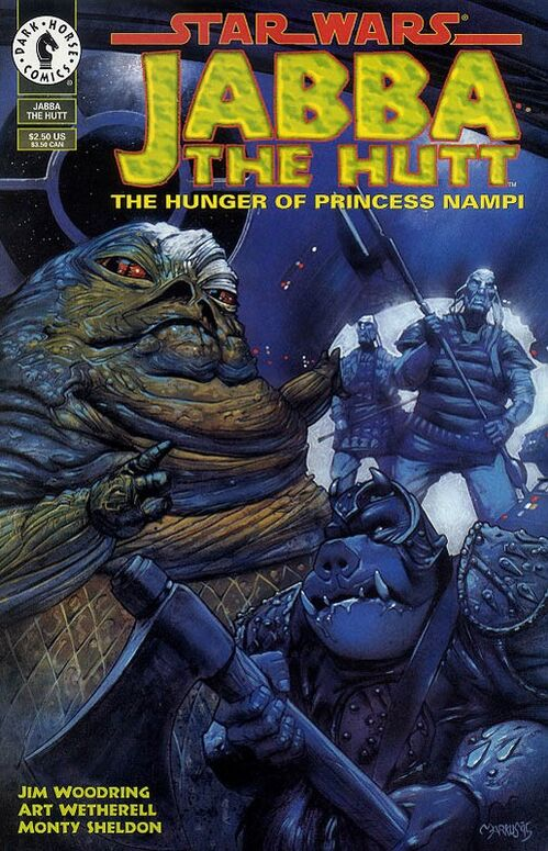 Star Wars - Jabba the Hutt: The Hunger of Princess Nampi (Vol 1 1995) #One-Shot CVR A