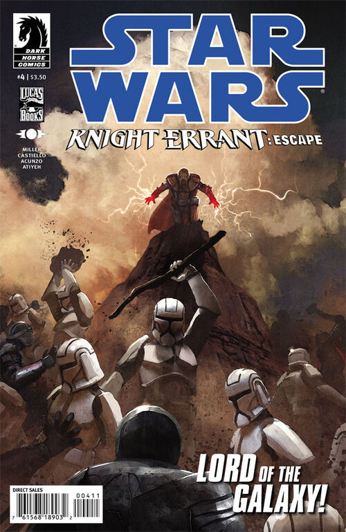 Star Wars - Knight Errant: Escape (Vol 1 2012) #4 CVR A