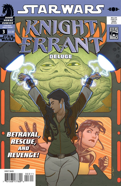 Star Wars - Knight Errant: Deluge (Vol 1 2011) #3 CVR A