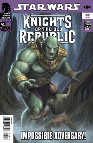 Star Wars - Knights of the Old Republic (Vol 1 2006) #41 CVR A