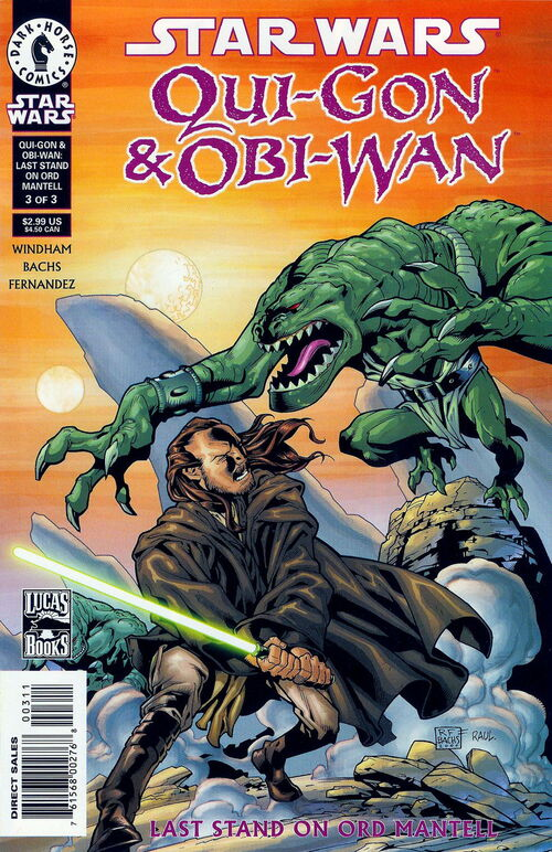 Star Wars - Qui-Gon & Obi-Wan: Last Stand on Ord Mantell (Vol 1 2001) #3 CVR A
