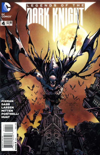 Batman - Legends of the Dark knight (Vol 1 2013) #4 CVR A