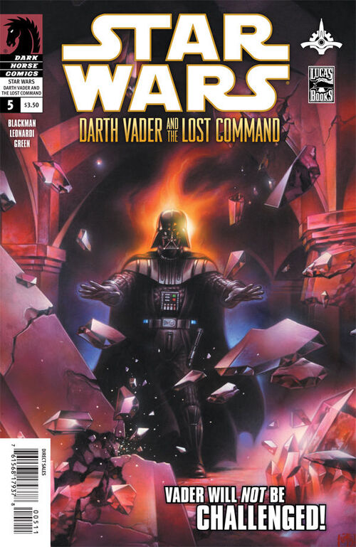 Star Wars - Darth Vader and the Lost Command (Vol 1 2011) #5 CVR A