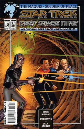 Star Trek: Deep Space Nine - The Maquis (Vol 1 1995) #3 CVR A