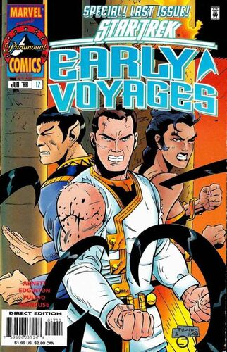 Star Trek: Early Voyages (Vol 1 1997) #17 CVR A