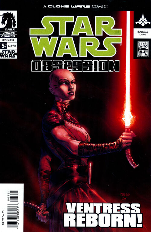 Star Wars - Obsession (Vol 1 2004) #5 CVR A
