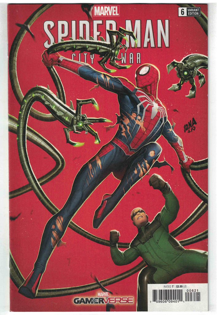 Marvel Gamerverse Spider-Man City At War #6 1/25 David Nakayama Variant