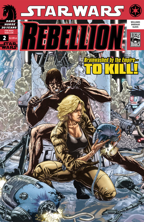 Star Wars - Rebellion (Vol 1 2006) #2 CVR A