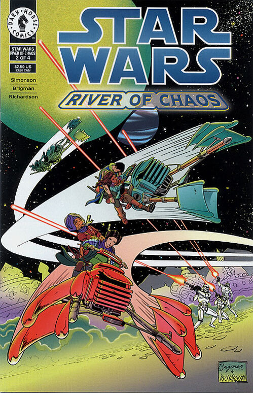 Star Wars - River of Chaos (Vol 1 1995) #2 CVR A