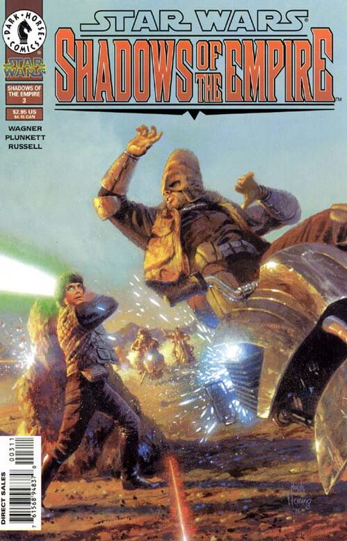Star Wars - Shadows of the Empire (Vol 1 1996) #3 CVR A