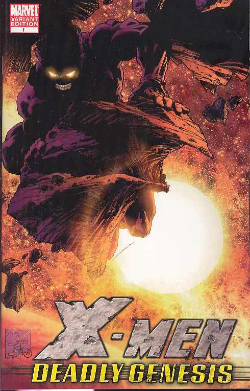 X-Men: Deadly Genesis (Vol 1 2006) #1 CVR C
