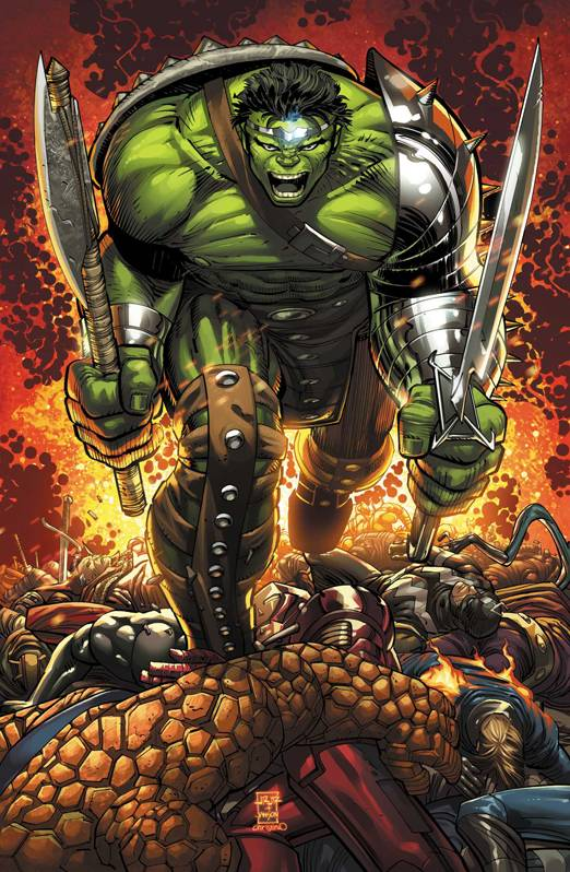 World War Hulk Prologue: World Breaker (Vol 1 2007) #1 CVR A