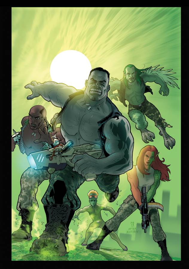 World War Hulk Gamma Corps (Vol 1 2007) #1 CVR A