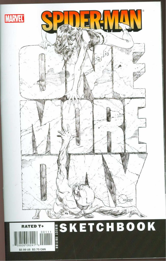 Spider-Man: One More Day Sketchbook (Vol 1 2007) #1 CVR A