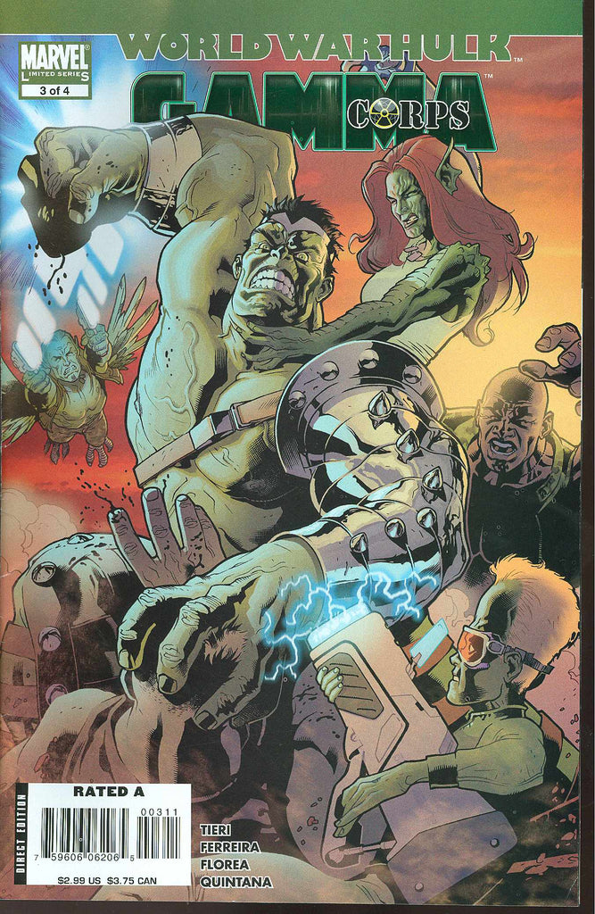 World War Hulk Gamma Corps (Vol 1 2007) #3 CVR A