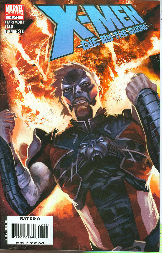 X-Men: Die by the Sword (Vol 1 2008) #4 CVR A
