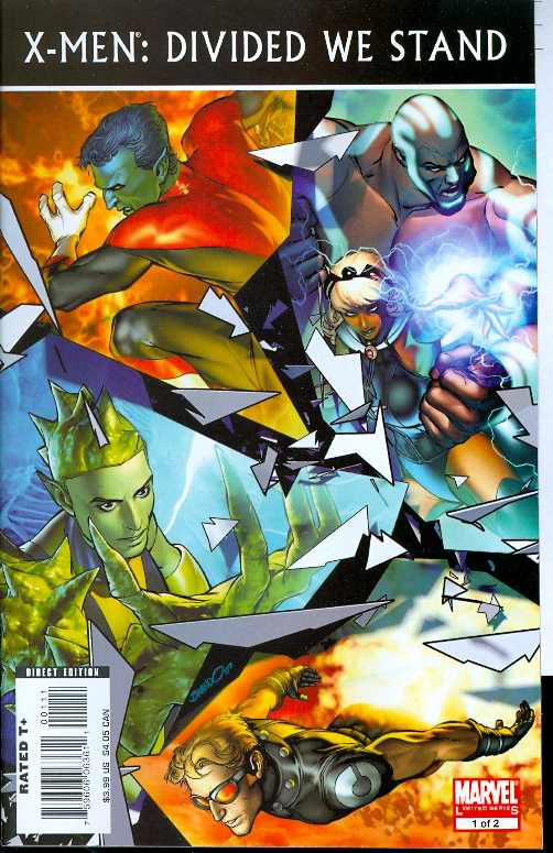 X-Men: Divided We Stand (Vol 1 2008) #1 CVR A
