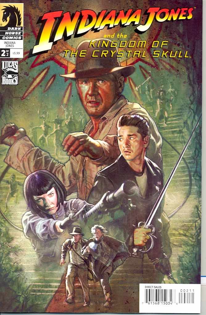 Indiana Jones and the Kingdom of the Crsytal Skull (Vol 1 2008) #2 CVR A