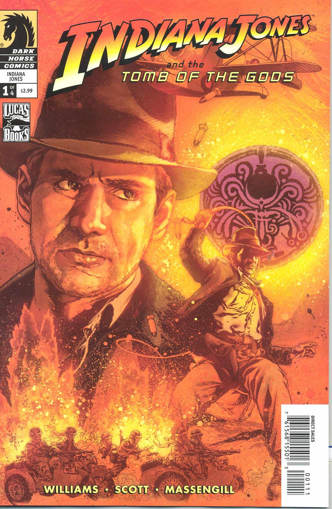 Indianana Jones and the Tomb of the Gods (Vol 1 2008) #1 CVR A