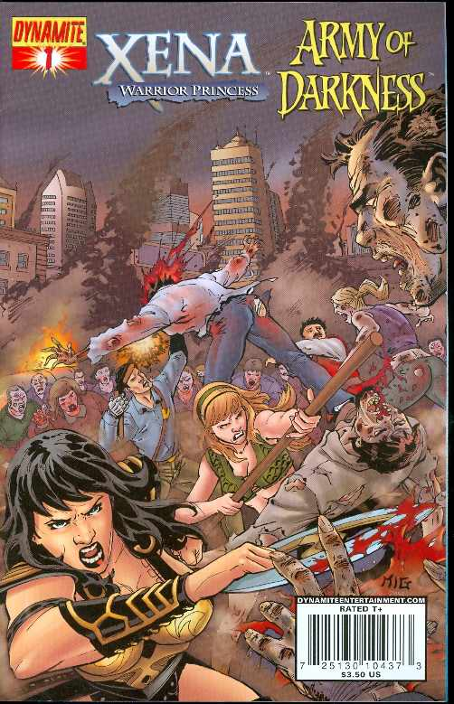 Xena/ Army of Darkness: What . . . Again?! (Vol 1 2008) #1 CVR A