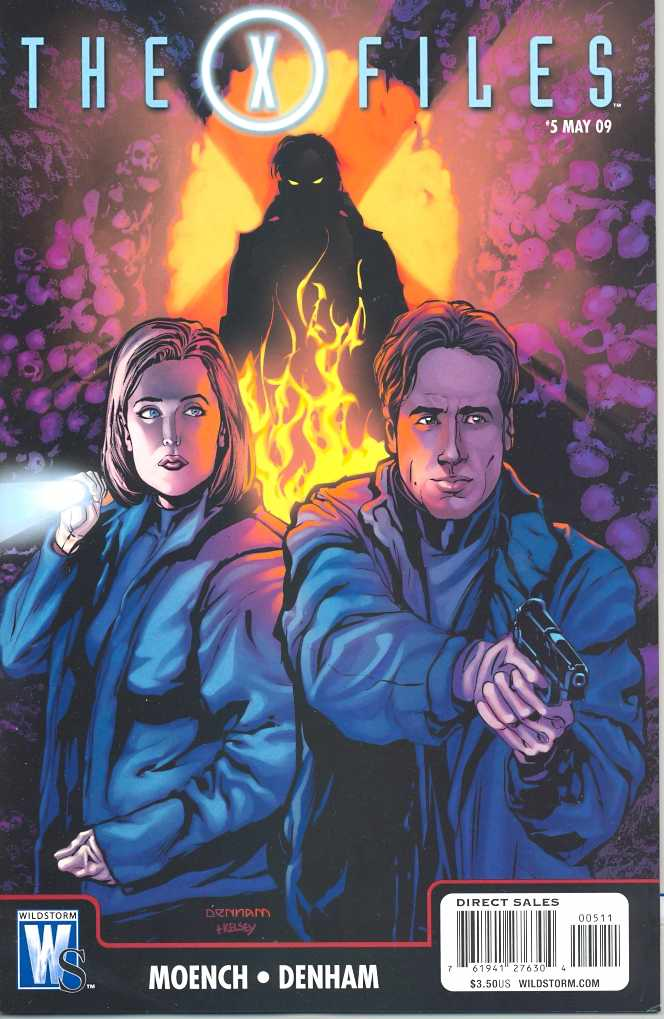 X-Files (Vol 1 2009) #5 CVR A