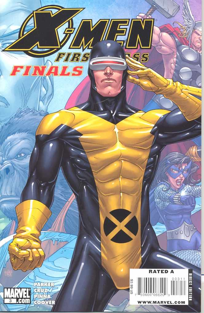 X-Men: First Class Finals (Vol 1 2009) #3 CVR A