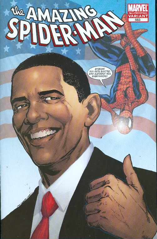 Amazing Spider-Man #583 3rd Printing Obama Variant