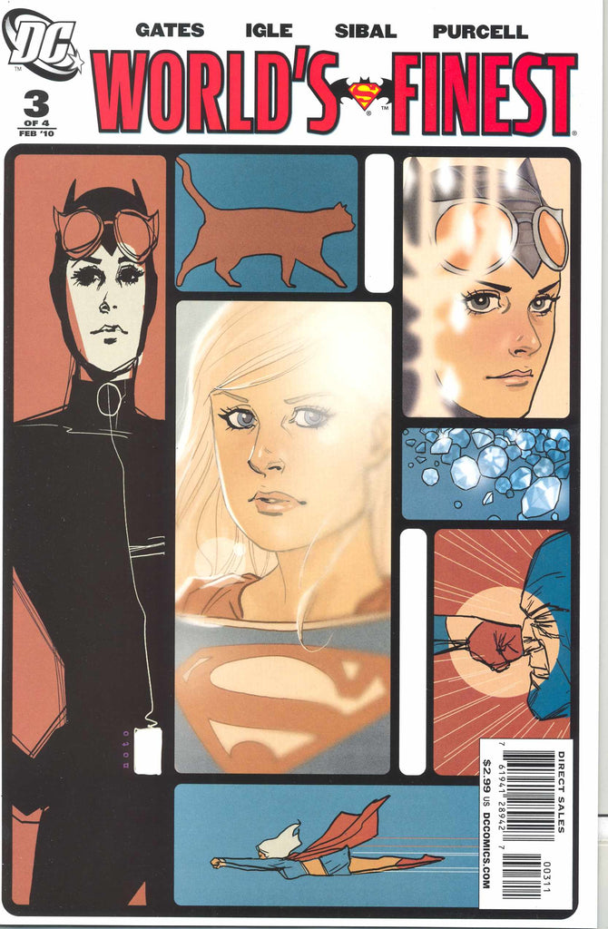 World's Finest (Vol 2 2009) #3 CVR A