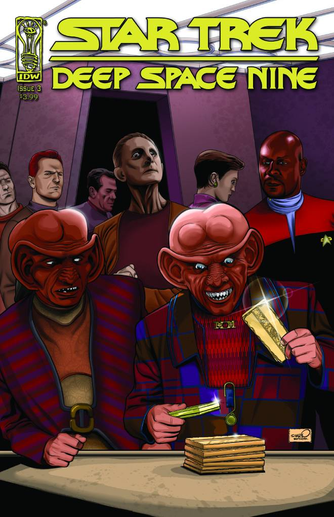 Star Trek: Deep Space Nine - Fool's Gold (Vol 1 2009) #3 CVR A