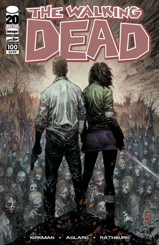Walking Dead (Vol 1 2012) #100 CVR B Silvestri Variant