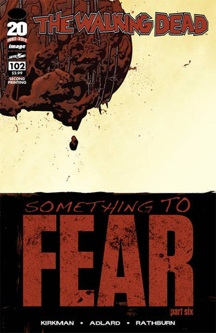 Walking Dead (Vol 1 2012) #102 2nd Print