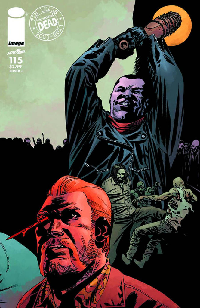 Walking Dead (Vol 1 2013) #115 CVR J