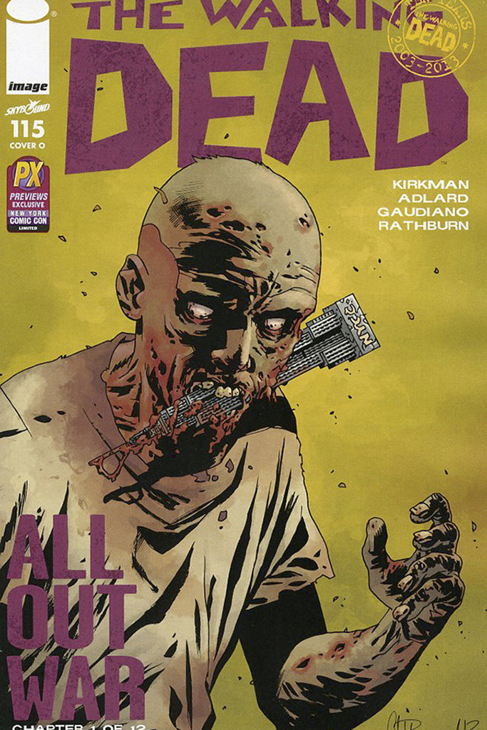 Walking Dead (Vol 1 2013) #115 CVR O Previews Exclusive NYCC Edition