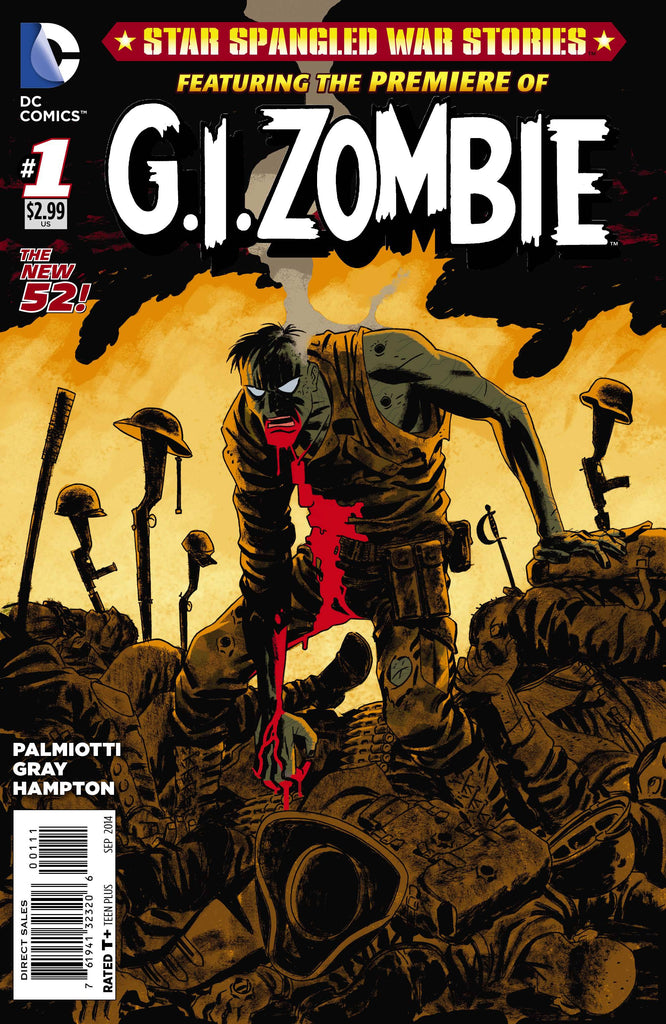 Star Spangled War Stories Featuring G.I.Zombie (Vol 2 2014) #1 CVR A