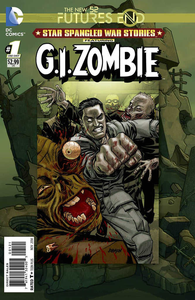 Star Spangled War Stories Featuring G.I.Zombie: Futures End (Vol 1 2014) #1 CVR B Non-Lenticular Cover