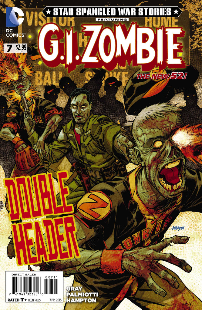 Star Spangled War Stories Featuring G.I.Zombie (Vol 2 2014) #7 CVR A