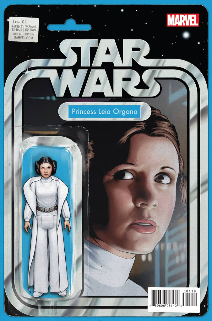 Star Wars - Princess Leia (Vol 1 2015) #1 CVR S Action Figure Variant