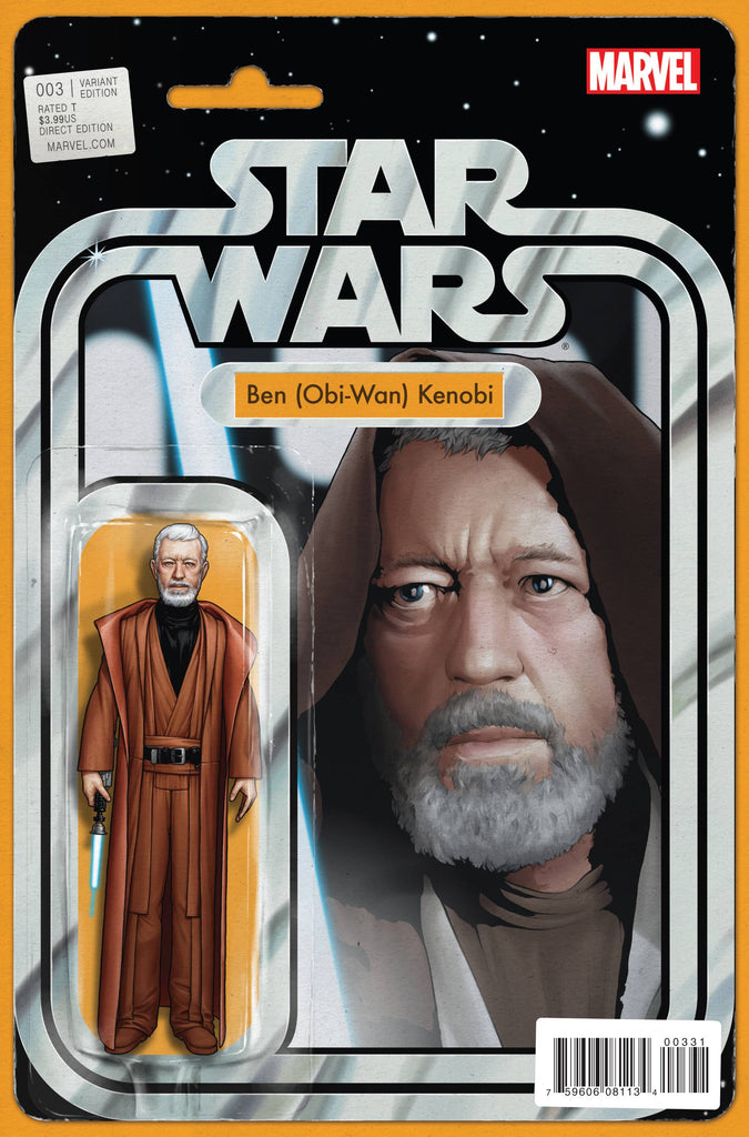 Star Wars (Vol 2 2015) #3 CVR C Action Figure Variant