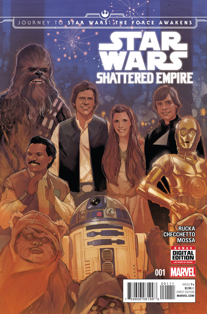 Journey to Star Wars the Force Awakens Shattered Empire #1 - Coliseum of Comics