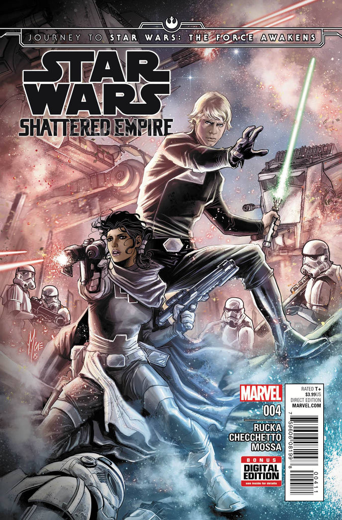 Star Wars - Journey to Star Wars: The Force Awakens - Shattered Empire (Vol 1 2015) #4 CVR A