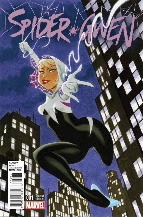 Spider-Gwen #1 Timm Variant - Coliseum of Comics