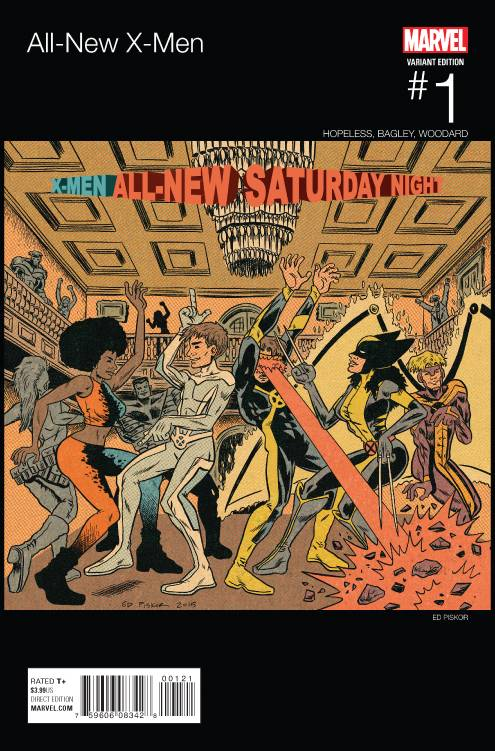 All-New X-Men #1 Ed Piskor Hip-Hop (Camp Lo - Uptown Saturday Night) Variant