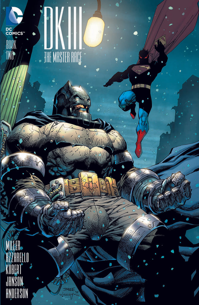 Dark Knight III The Master Race #2 1/500 Jim Lee Variant