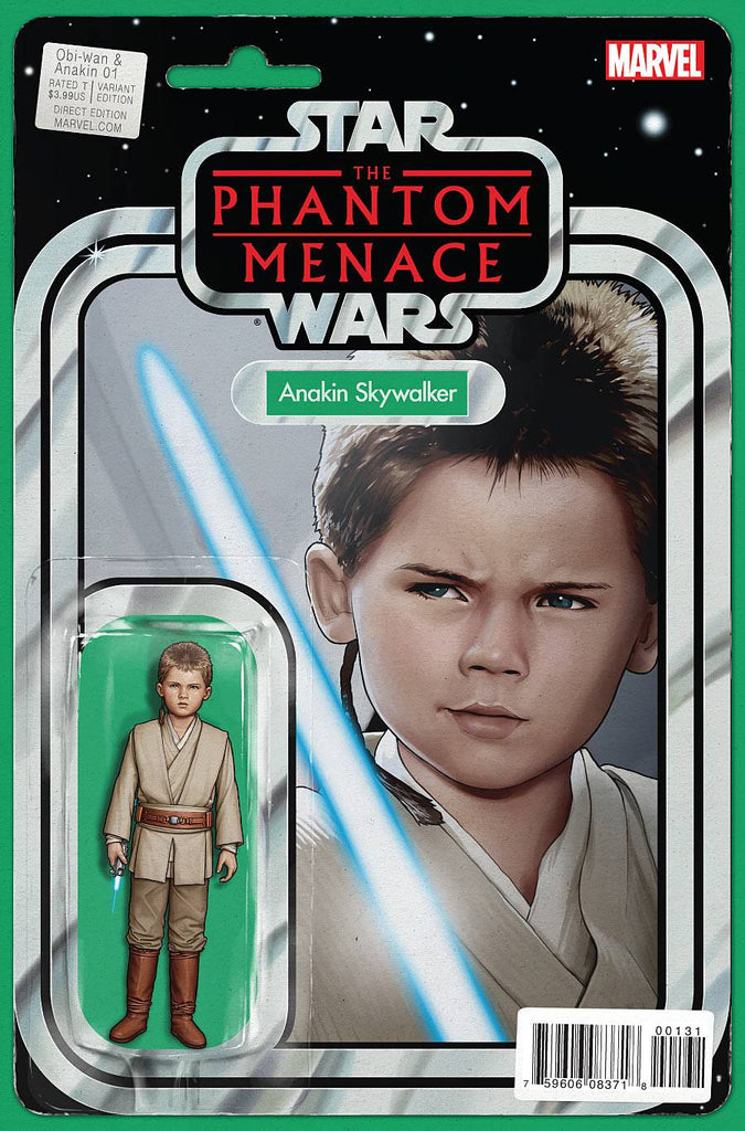 Obi-Wan and Anakin #1 Action Figure Variant - Coliseum of Comics