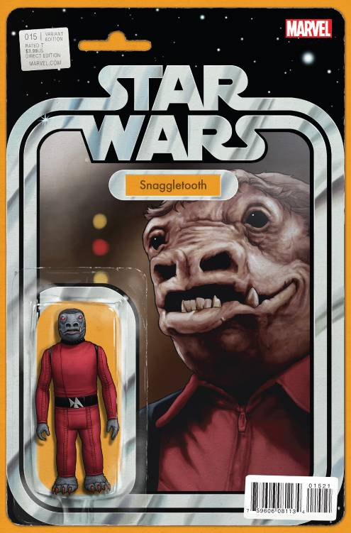 Star Wars (Vol 2 2015) #15 CVR B Action Figure Variant