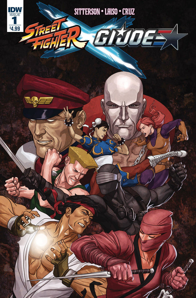 Street Fighter X G.I .Joe (Vol 1 2016) #1 CVR A