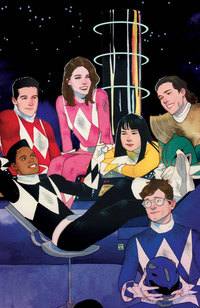 Mighty Morphin Power Rangers #1 1/50 Kevin Wada Virgin Art Variant