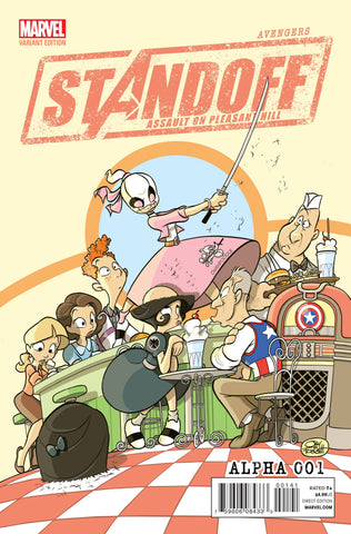 Avengers Standoff: Assault on Pleasant Hill Alpha #1 Jay P. Fosgitt Party Variant
