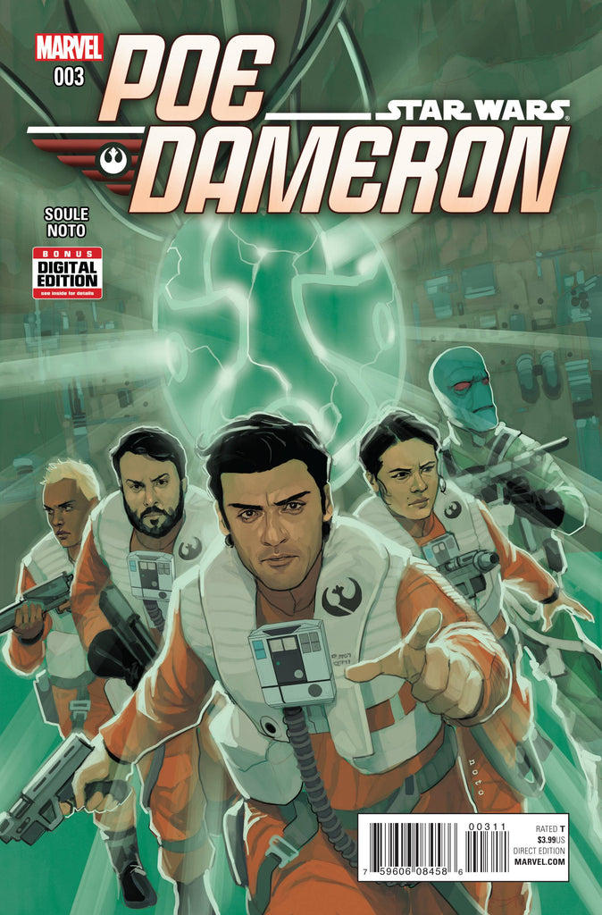 Star Wars - Poe Dameron (Vol 1 2016) #3 CVR A