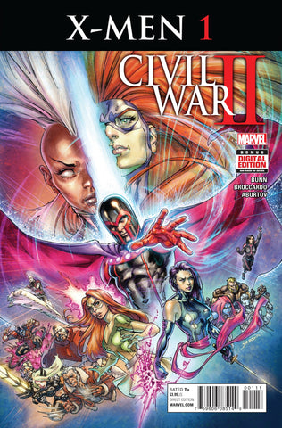 Civil War II: X-Men (Vol 2 2016) #1 CVR A